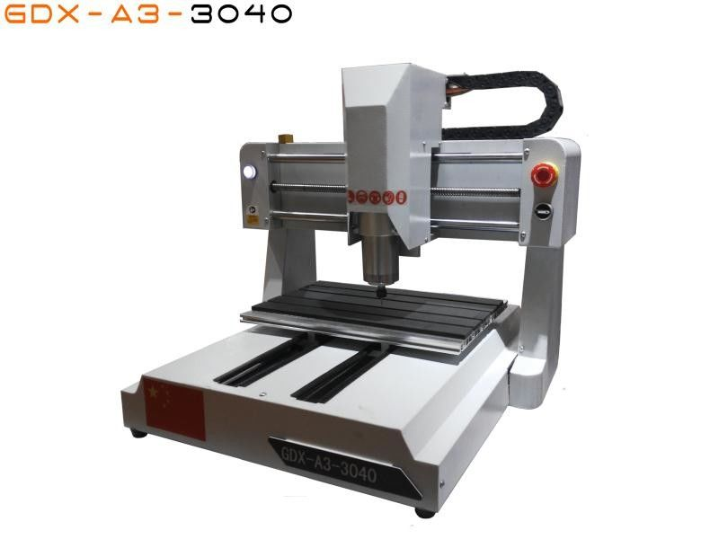 Small Woodworking Cnc Machines Mini Router With Mach3 / Ncstudio Controller
