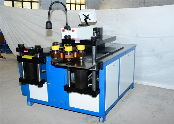 ISO9001 CNC Busbar Machine 12*160mm for high pressure tower and voltage switchgear